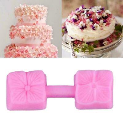 Silikon 3D Big Rose Blume Fondant Kuchen Schokolade Mold Tool Mold Sugarcra D0C4