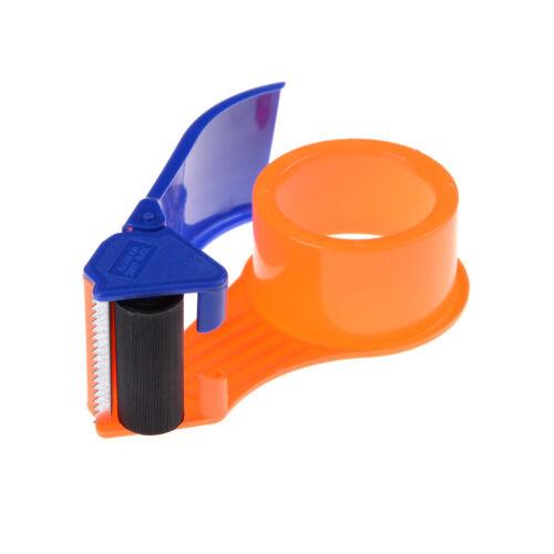 "Sealing Packaging Parcel Plastic Roller 2/"" Width Tape Cutter Dispenser VP"