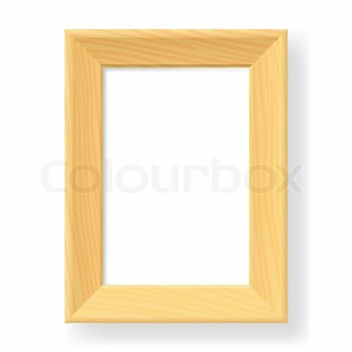 "8x10/"" Oak Plain Wooden Photo Frame Birthday Wedding Gift Present Occasions"