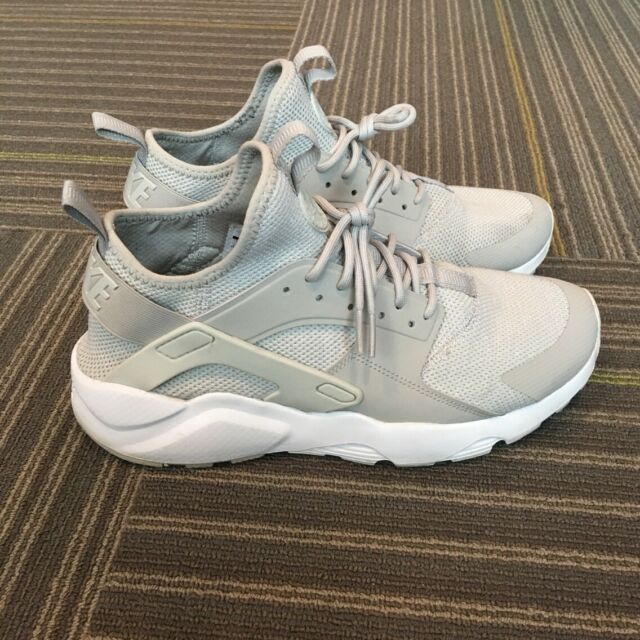 outlet store c6da1 67565 Nike Air Huarache Run Ultra Breathe Size 9.5 Pale Grey White 833147 002
