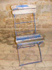 belle ancienne Chaise pliante, de camping, Jardin, Chaise, Bois, Terrasse Jardin