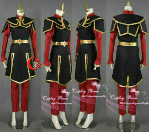 Azula Cosplay Costume from Avatar The Last Airbender Cosplay Costume