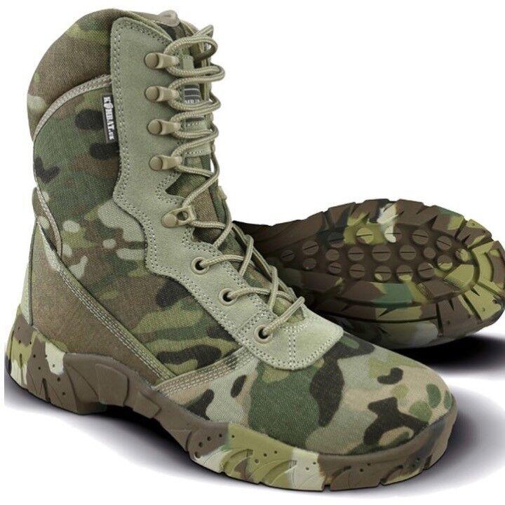 CAMO RECON Stiefel MENS 6 - 12 TACTICAL PRO Stiefel FOOTWEAR WORKWEAR ARMY MTP BTP