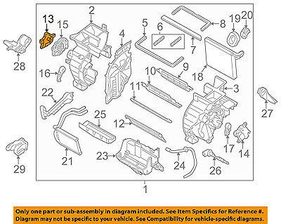 HYUNDAI OEM 11-15 Sonata 2.4L-L4 Evaporator Heater-Actuator 971573SAA0
