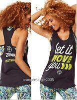 Zumba Instructor Loose Tank Top let It Move You -fr.u.k Convention-rare S M L