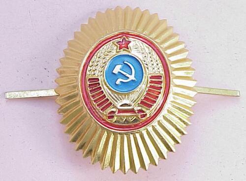 RUSSIAN SOVIET MILITARY POLICE PIN STAR BADGE INSIGNIA RED USSR MEDAL AWARD WAR