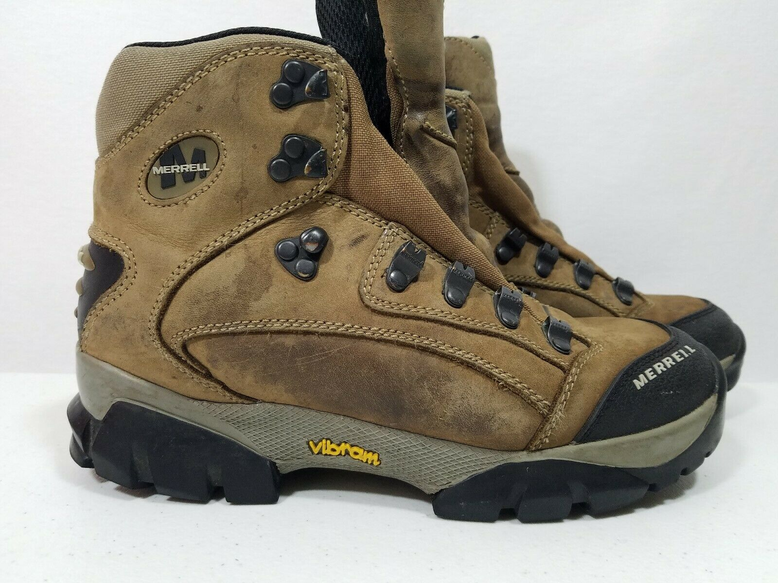 Merrell 50754 Womens Wind River Stone Hiking Trail Boots Size 7.5