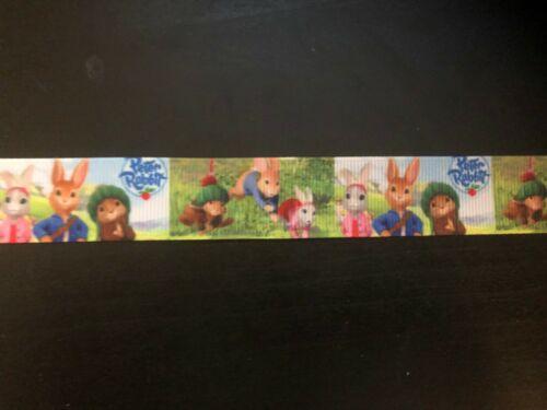 1m Peter Rabbit 22mm Ribbon