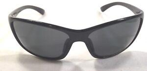 bba92697b62 Image is loading Suncloud-Sentry-Polarized-Sunglasses-Black-Frame-Gray- Lenses