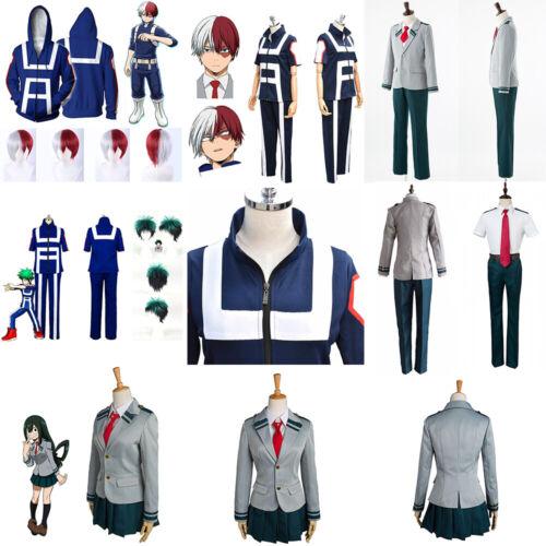 My Boku no Hero Academia Halloween Costume Cosplay Tsuyu Ochako Kohei Uniform