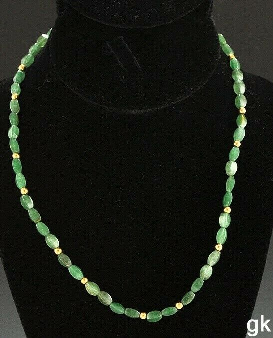 Idunna Devotional Necklace with Aventurine and Amber