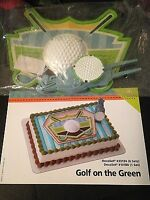 Decopac Golf On The Green Golf Birthday Cake Topper Decorating Kit