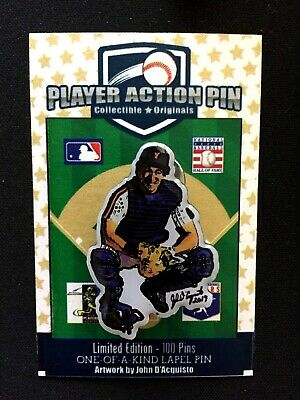 "Baseball & Softball New York Mets Gary Carter Trikot Revers Pin-classic Collectible "" The Kid "" Reinweiß Und LichtdurchläSsig Sport"