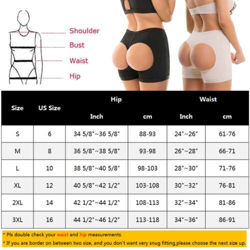 US Women High Waist Trainer Butt Lifter Panties Tummy Control Girdle Body Shaper