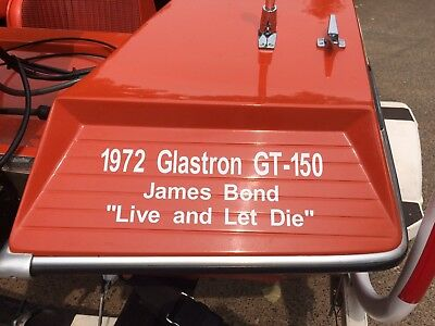 Pick Your Year Glastron GT 150 Rear Deck Vinyl Graphic