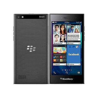 "BLACKBERRY LEAP 5"" 16GB 8MP UNLOCKED SMARTPHONE - SHADOW GREY GRADE A"