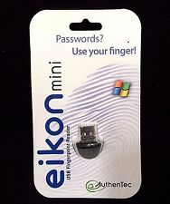 Eikon Mini USB Fingerprint Reader Windows NEW OEM