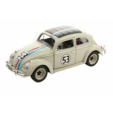 MATTEL bcj94 VW Beetle Herbie MODELLO RALLY AUTO dall' WALT DISNEY FILM 1:18 TH