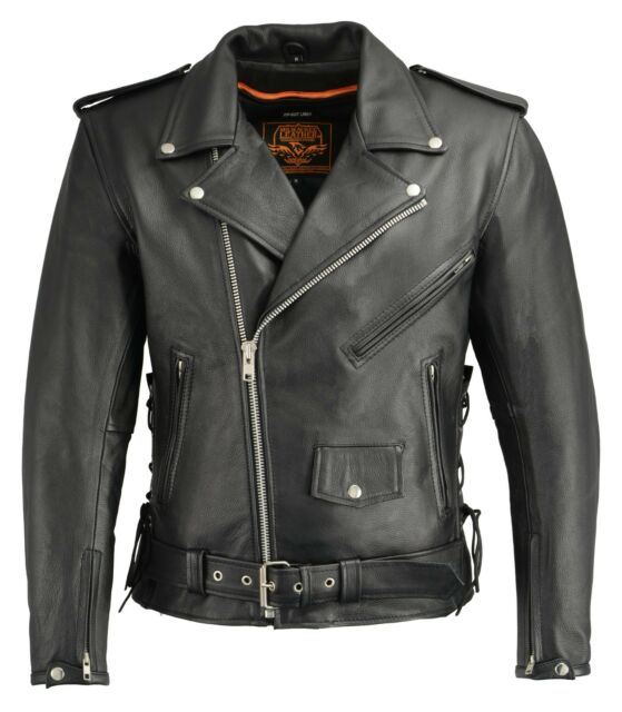 041d3c978775 Milwaukee Leather Men s Classic Side Lace Concealed Carry Motorcycle ...