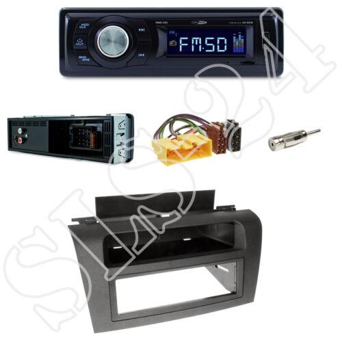 adaptador ISO set Mazda 3 diafragma Black tipo BK Caliber rmd021 radio del coche