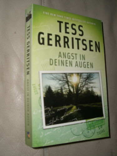 1 von 1 - Tess Gerritsen: Angst in deinen Augen
