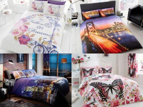 Increíble Diseño Juego de cama funda nórdica con funda de almohada en todos los tamaños