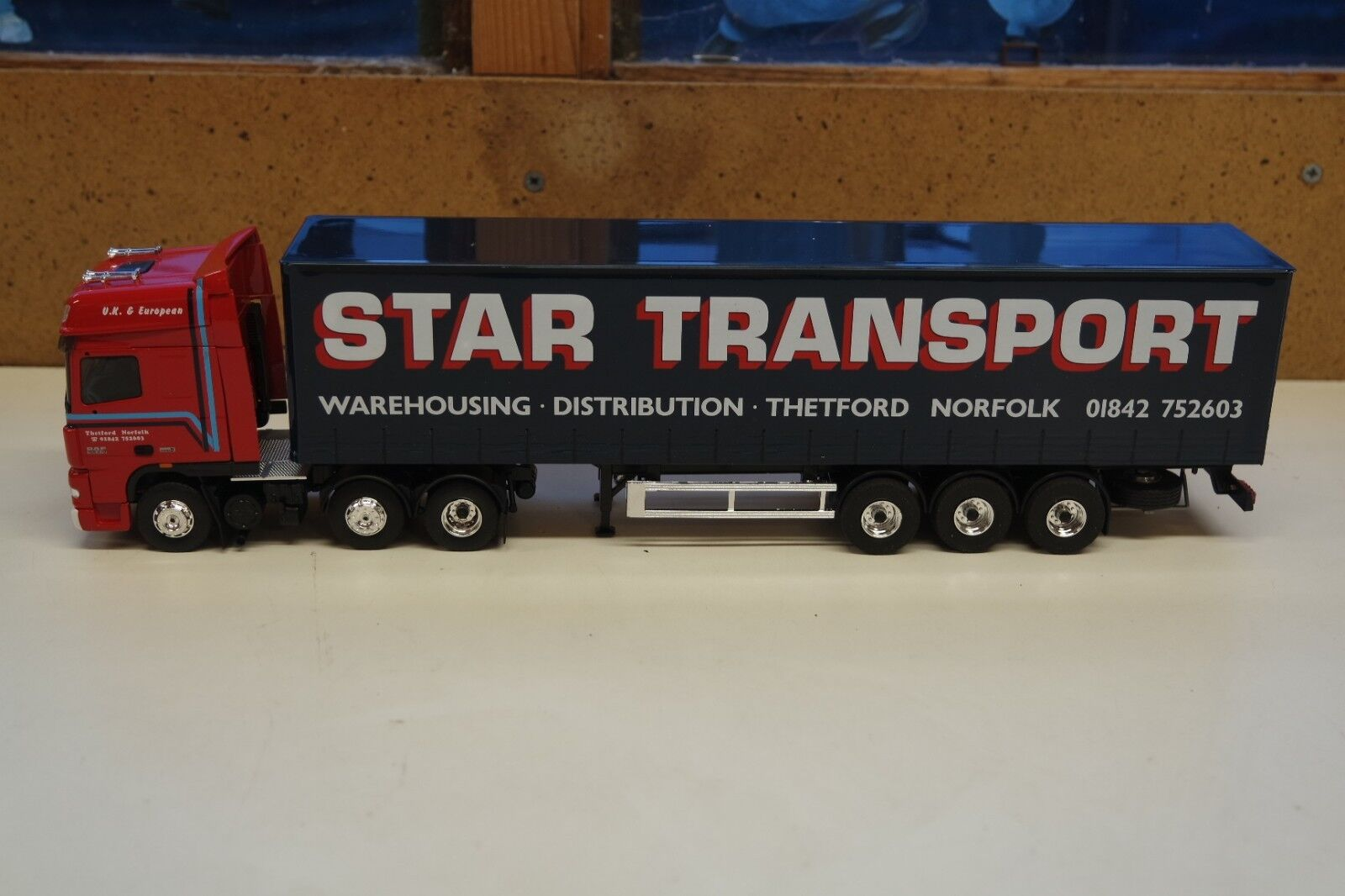 ELIGOR SEARCH IMPEX DAF XF 105 62 TAUTLINER STAR TRANSPORT, 1 43, 113691 NEW