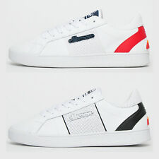 ELLESSE Classic Leather LS-80 Mens Heritage Retro Trainers