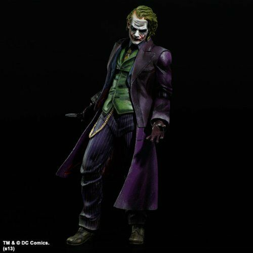 Batman Dark Knight Trilogy Joker Play Arts Kai Square Enix Used JC