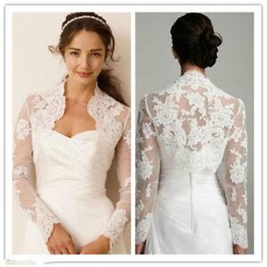 Image Is Loading Jacket Y Lace Bolero Wedding Dresses Evening Coat