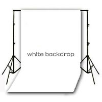 3x5ft Plain White Thin Vinyl Backdrop Photography Props Cp Photo Background