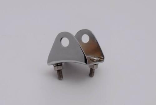 Stainless Steel Bracket /& Screws for Lambretta Nannucci Mudguard Skelly Sports