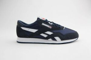59.99 Reebok Men Classic Nylon navy team navy platinum 39749  c20d27b07