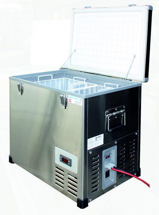Kompressor Tiefkühlbox WEMO B- 46GTA 12V 24V 230V Stiefel (kein Waeco)  Wohnmobil