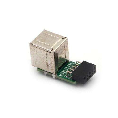 9Pin Motherboard to Double Layer 2Ports USB2.0 A Female Internal Header-AdapDOFS
