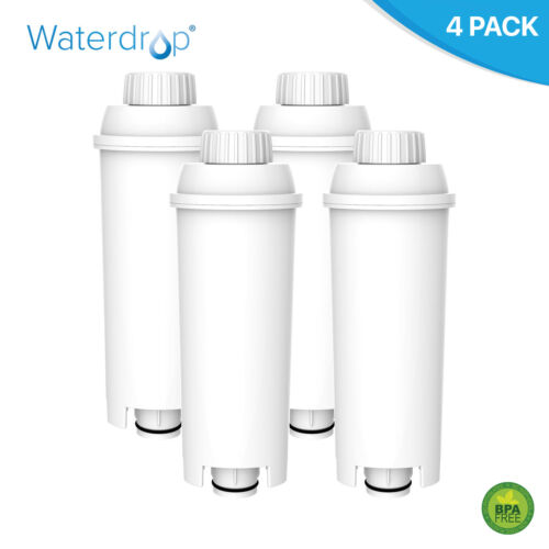 4 adoucisseur d/'eau Filtre Pour DeLonghi DLSC 002 SER3017 MacHine à Café ECAM ESAM