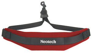 NEOTECH-SOFT-SAX-STRAP-RED-COMFORTABLE-SAX-SLING-UK-POST-FREE