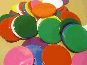 38mm-Opaque-Plastic-Counters-Numeracy-Teaching-Resource-Multiple-pack-sizes-D027