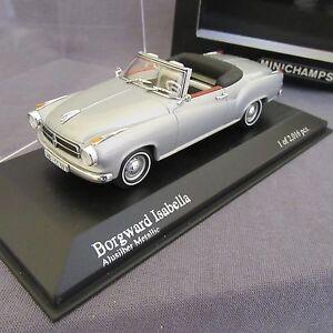 526E-Minichamps-Borgward-Isabella-1959-Coupe-Cabriolet-1-43
