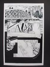 Batman Rebirth #1 DC 2016 (Original Art) Page 7 (Editor correction) David Finch!