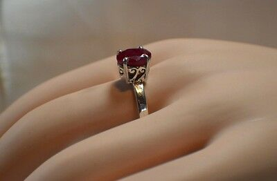 Glamour .85 ct naturel d/'origine africaine Emerald .925 Sterling Silver Ring
