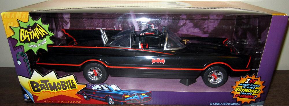 Dc - helden batman versiegelt abbildung moc klassische tv - serie batmobil batman - geschenk