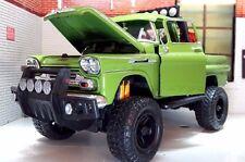 1:24 Scale 1958 Chevrolet Apache Fleetside Pickup Expedition 4x4 Diecast Model
