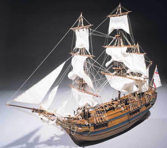 Mantua Sergal H.M.S. Bounty 1 60 Scale Wood Ship Kit Kit Kit 5ba