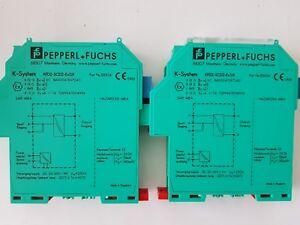 180997 PEPPERL+ FUCHS Trennschaltverstärker ST2 Ex1.LB KFD2