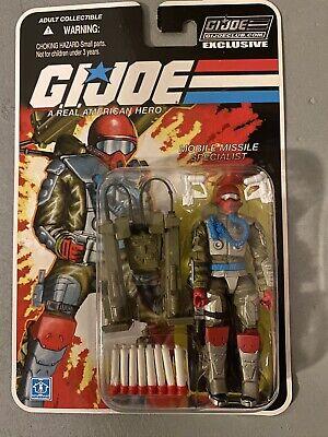 GI Joe FSS 8.0 25th 50th POC Club Capt Captain Grid Iron