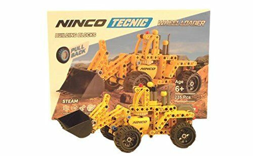 Schaufel Bagger 235 Stk Ninco bist NT10051 Retro Reibung,Motor Ladung Manuell