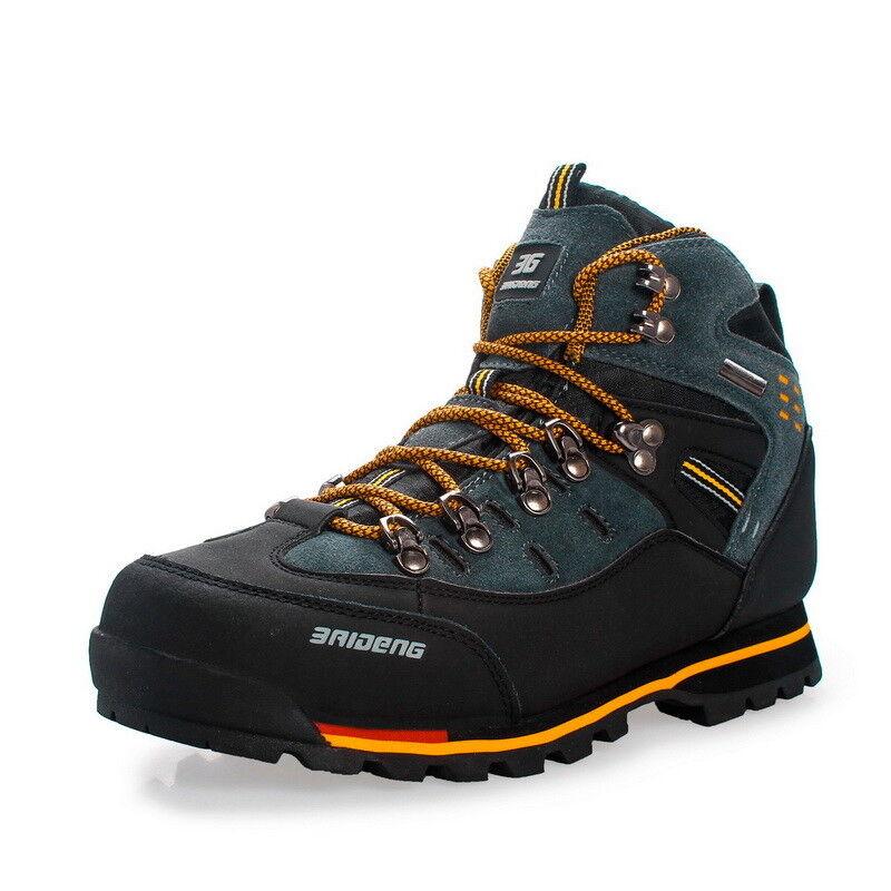 Herren Schuhe Trekkingschuhe Wanderstiefel  Outdoor Trekking Sneaker gemütlich