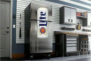 Miller Lite Beer Fathead Wall Sticker 4 Dorm Room Man