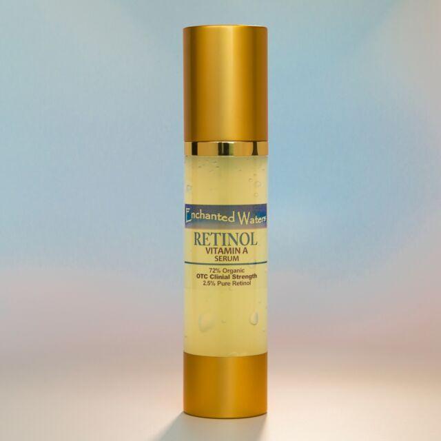 RETINOL - PURE Vitamin A 2.5% / 72% Organic, Wrinkle & Acne Face Cream / Serum